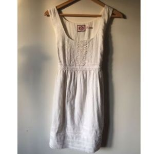 Juicy Couture White Summer Sleeveless Dress